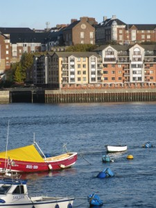 1 Howard Street from across the Tyne at South Shields (October 2010)