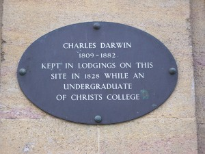 Site of Darwin Lodgings (1828), Cambridge