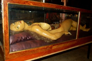 """Anatomical Venus"" Wax model at the Semmelweiss Medical Museum"