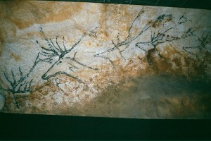 Reproduction of Altamira cave painting