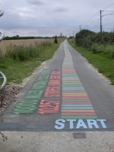 DNA cyclepath to Shelford
