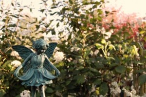 A fairy in the garden