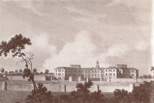 Engraving of the Asylum, 1818