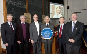 Oxford landmark plaque RSC presentation