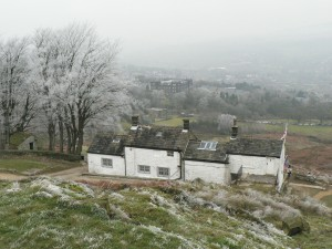 White Wells in winter frost