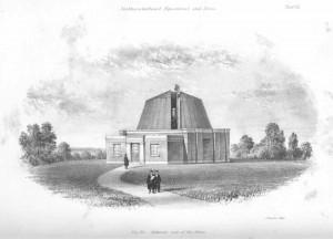 The Northumberland Telescope dome when new