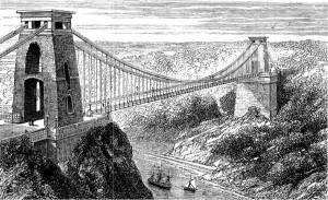 Illustration of Clifton Suspension Bridge