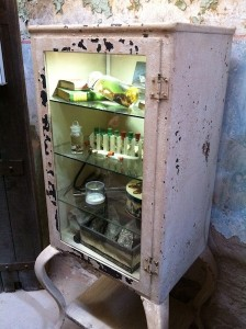 """Cabinet from """"Specimens"""" Exhibition"""