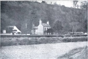 A photograph of Wallace's birthplace. From My Life (1905)
