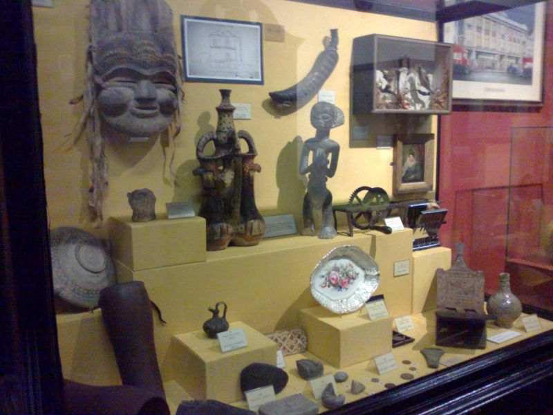 Cabinet of Curiosities room, Swansea Museum