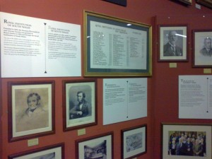 History of the Royal Institution South West, Cabinet of Curiosities room, Swansea Museum