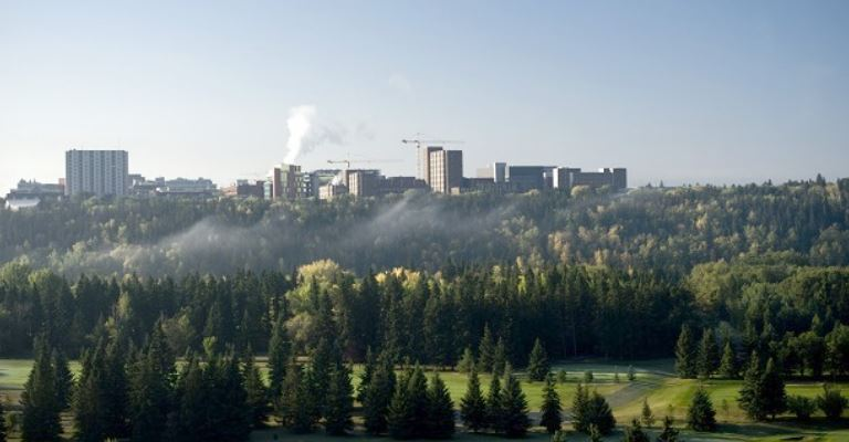 North Saskatchewan River Valley - ©University of Alberta