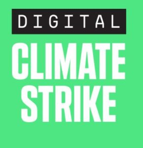 Digital Climate Strike logo