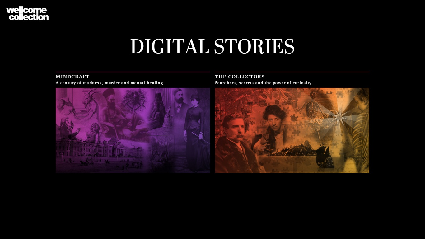 Digital Stories (Wellcome Collection)