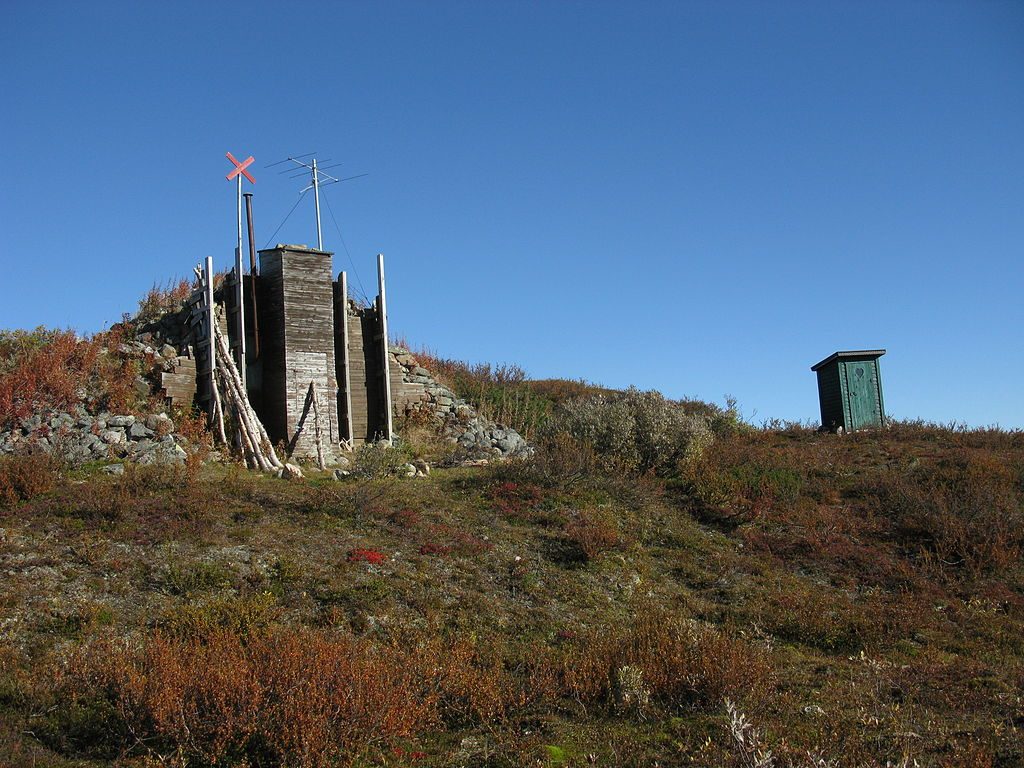 One of the security shelters at Esrange.