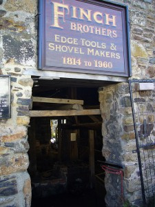 Main entrance to Finch Foundry