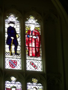 Darwin Stained Glass, College Hall, Christ's College, University of Cambridge