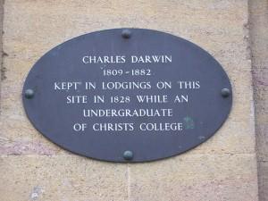 Site of Darwin Lodgings (1828), Cambridge