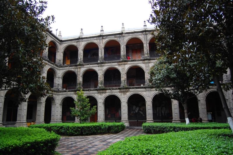 Antiguo Colegio De San Ildefonso Ancient College Of San Ildefonso