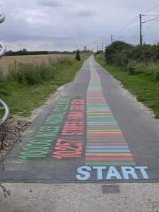 DNA cyclepath to Shelford