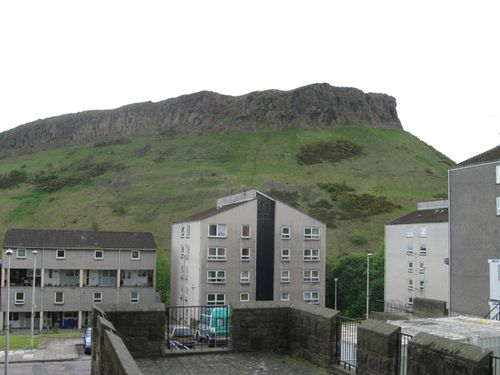 The Salisbury Crags