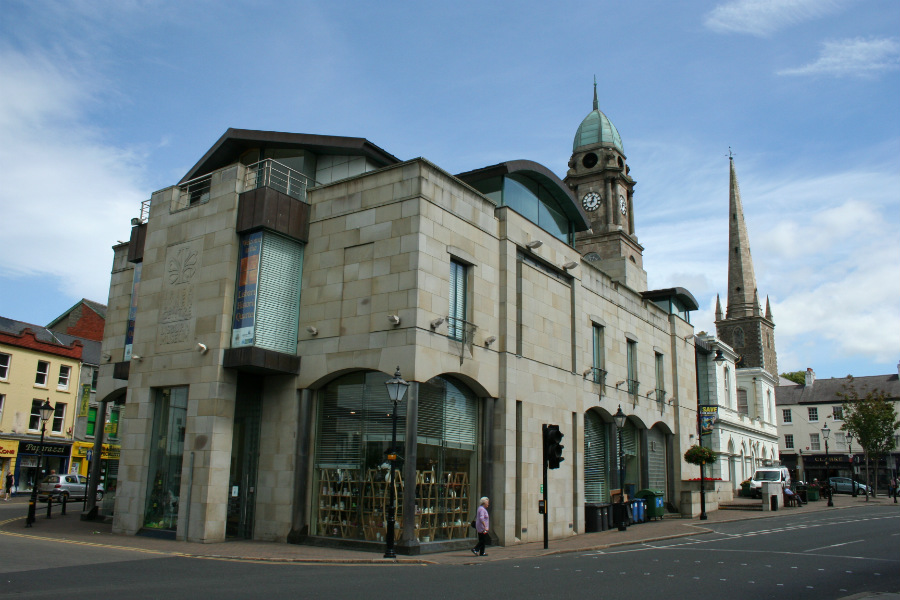 Irish Linen Centre & Lisburn Museum, Market Square, Lisburn.