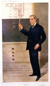 Caricature of Sir William Ramsay