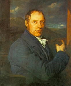 Painting of Richard Trevithick, the engineer, by John Linnell (1792-1882), 1816