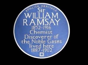 William Ramsay blue plaque