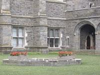 Emmy Noether's grave, the Cloisters, Bryn Mawr