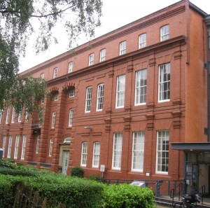 The original Whitworth Laboratories.