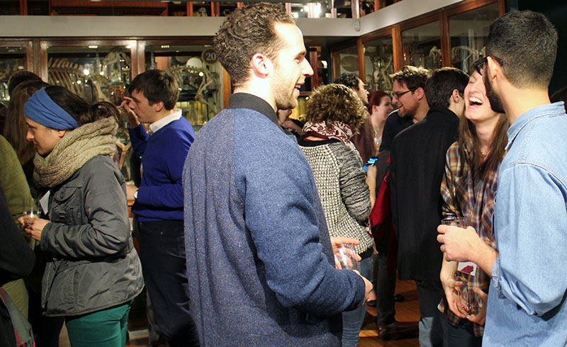 BSHSPG15 featured a reception in UCL Grant Museum of Zoology, a popular venue for STSUCL events.