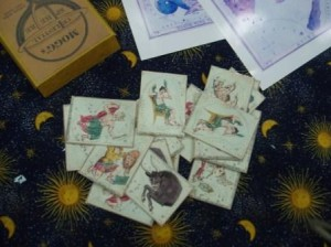 Astronomical playing cards