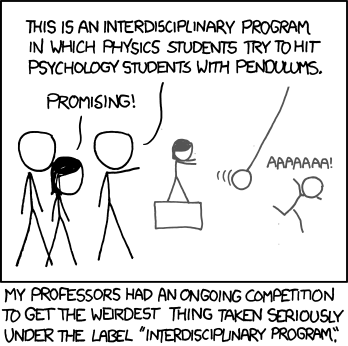 interdisciplinary xkcd comic