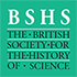 The British Society for the History of Science (BSHS) Retina Logo