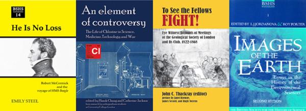 BSHS Monographs banner