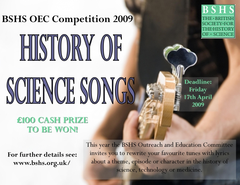 2009 Song Competition Poster