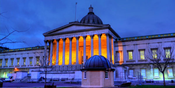 UCL Portico - site of 2015 PostGraduate Conference